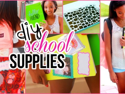 Quick and Easy DIY Back to School Supplies!