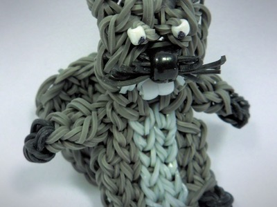 Rainbow Loom Beaver Charm.Animal Figure Tutorial (extended)