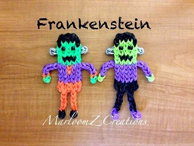 Rainbow Loom Frankenstein Doll