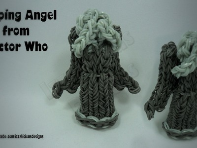 Rainbow Loom Weeping Angels from Doctor Who - Charm.Action Figure - Gomitas