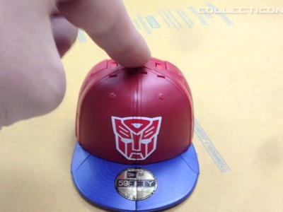 Transformers Hat Capbots Optimus Prime automorph feature