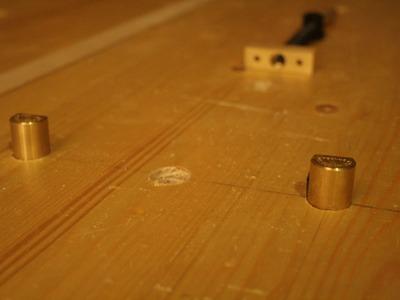 Workbench additions - Dog Holes