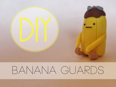 Adventure Time Banana Guard Tutorial [Polymer Clay]