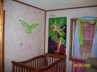 Butterfly & Wall or Ceiling Hanging Decorations For Girls Room Or Nursery