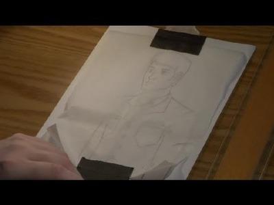 Drawing on Parchment Paper : Art Techniques