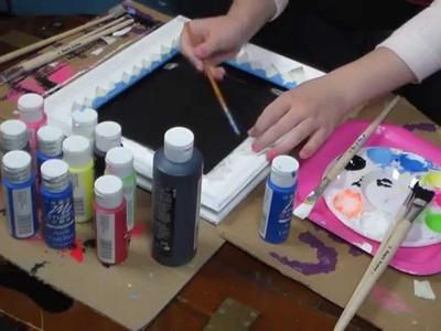 Easy Laptop Skin DIY + Chalkboard & Chalk-bucket DIY