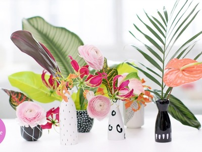 Easy-to-Paint Flower Vase - DIY Style with Erin Furey - Martha Stewart