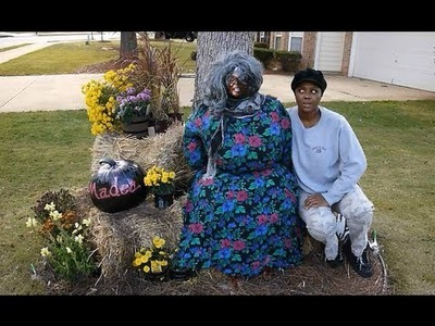 How to Create A Fall. Halloween Tyler Perry Madea's Decorations