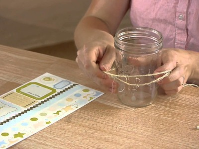 How to Decorate a Mason Jar for a Drinking Glass : Mason Jar Crafts & More