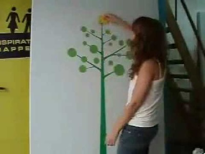 How to install Vinyl Wall Stickers - 4make - CoolWallArt