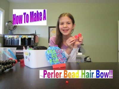 How To Make A Perler Bead Hair Bow