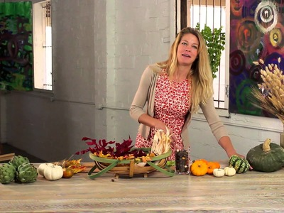 How to Make a Thanksgiving Showpiece : Holiday Decorations