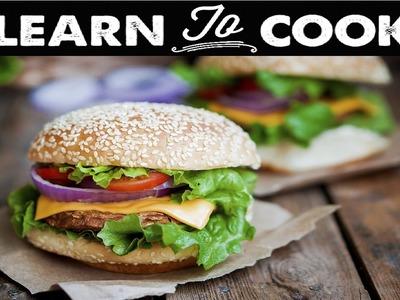 How to Make Portobello Mushroom Burgers