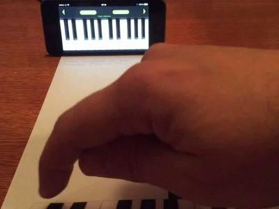 How to Print & Play Paper Piano iPhone App in 5 Simple Steps