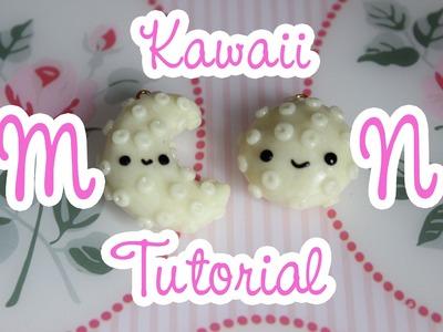 Kawaii Moon Polymer Clay Tutorial