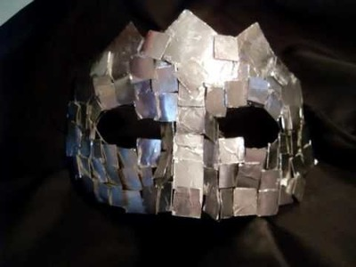 Lady Gaga mirror mask tutorial (ita)