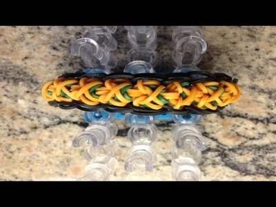 *NEW!* How to Make a Rainbow Loom Wrap Around Bracelet!