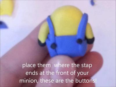 """Polymer Clay """"Minion""""  *Tutorial*"""