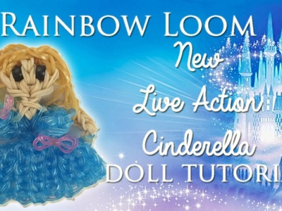 Rainbow Loom 2015 Live Action Cinderella How To.Tutorial