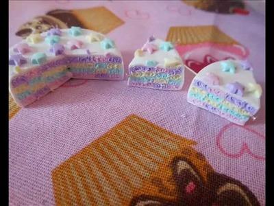 Tutorial: torta multicolor a quadratini (tutorial polymer clay)