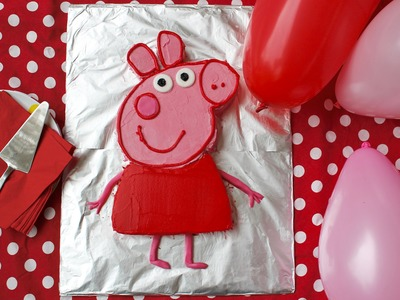 Birthday cake recipe: How to make a Peppa Pig birthday cake