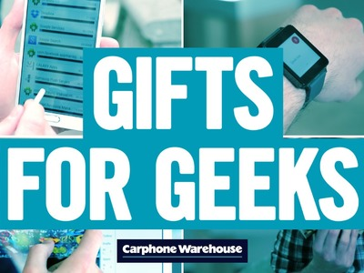 Christmas gift ideas for geeks