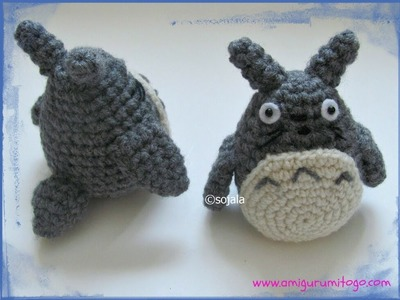 Crochet A Grey Totoro For The Cat Bus