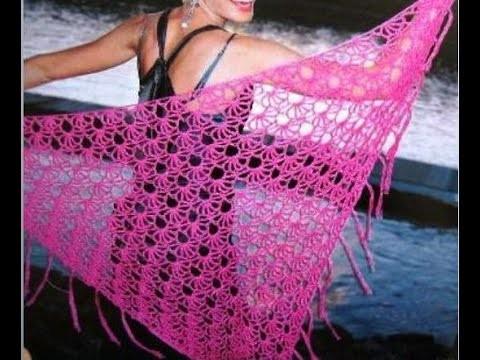 Crochet| shawl simplicity patterns 4