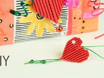 Gift from Heart - Easy Macrame Tutorial