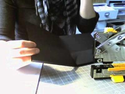 Handmade Note Card Holder