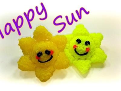 Happy Sun Tutorial by feelinspiffy Rainbow Loom