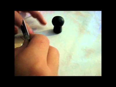 How to make a ninja - polymer clay