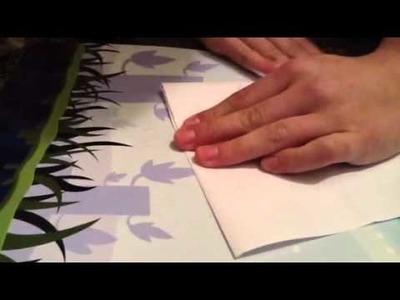 How to make a paper credit card holder wallet