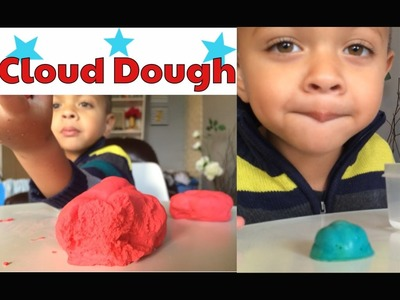 HOW TO MAKE CLOUD DOUGH || SCIENCE EXPERIMENT FOR KIDS