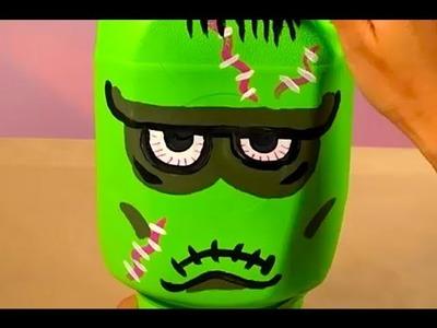 Monster Jug Heads Craft Decoration | Halloween | Babble