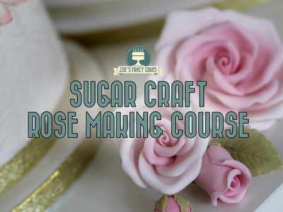 Premium tutorial: How to make sugar craft roses EXCLUSIVE DISCOUNT
