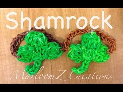 Rainbow Loom: Shamrock: 3 Leaf Clover