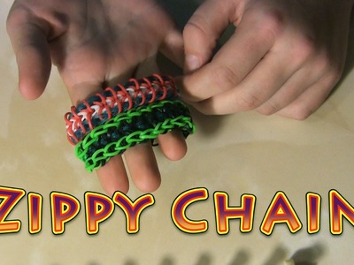 Rainbow Loom - Zippy Chain | the best tutorial