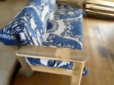 SAVE MONEY -- Build Your Own Pine Couch!  Cuenca DIY Frugal Blog