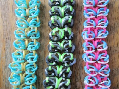 Shell Chainmail On the Rainbow Loom!