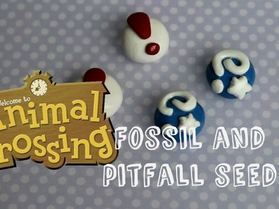 {Animal Crossing Deco Project} Fossil and Pitfall Seed Polymer Clay Tutorial