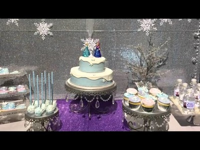 How to Decorate a Frozen Themed Birthday Party