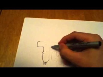 How To Draw Dripping Letters