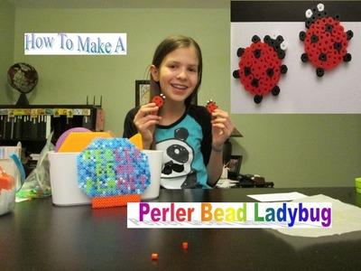 How To Make A Perler Bead Ladybug