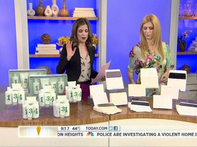 "Mother's Day Gifts featured on ""Jill's Steals and Deals"" on the TODAY show"
