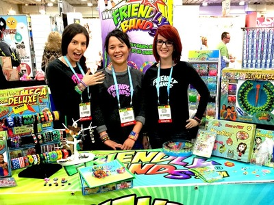 New York Toy Fair Exclusive - FRIENDLY BANDS Sunshine Loom