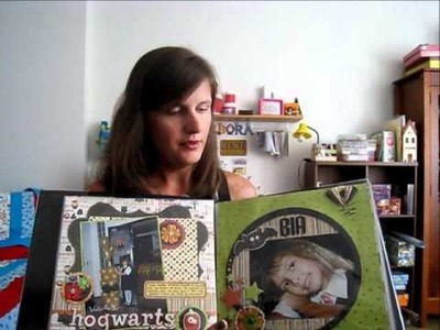 O álbum de scrapbooking do Harry Potter