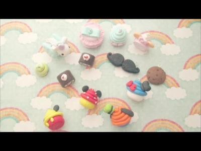 Polymer Clay Update #2 (Disney, Cakerolls, Macarons)