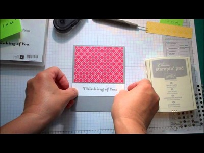 Stampin' Up! Quick Card:  Thinking of You