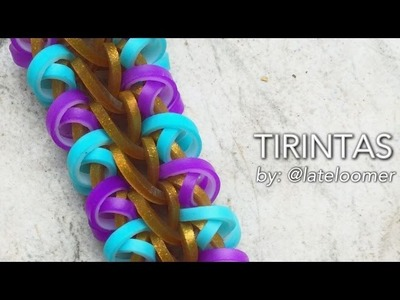 TIRINTAS Hook Only bracelet tutorial